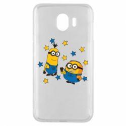 Чохол для Samsung J4 Minions and stars