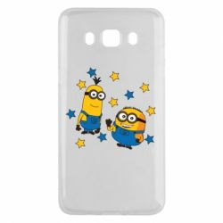 Чохол для Samsung J5 2016 Minions and stars