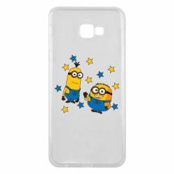 Чохол для Samsung J4 Plus 2018 Minions and stars