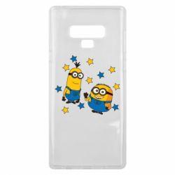 Чохол для Samsung Note 9 Minions and stars
