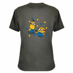 Камуфляжна футболка Minions and stars