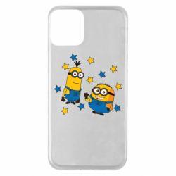 Чохол для iPhone 11 Minions and stars
