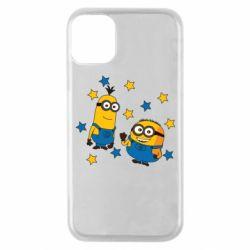 Чохол для iPhone 11 Pro Minions and stars