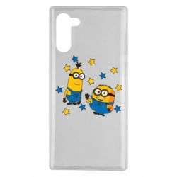 Чохол для Samsung Note 10 Minions and stars