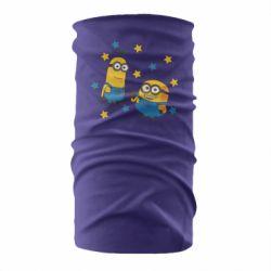 Бандана-труба Minions and stars