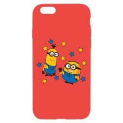 Чохол для iPhone 6/6S Minions and stars