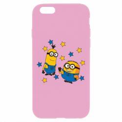 Чохол для iPhone 6 Plus/6S Plus Minions and stars