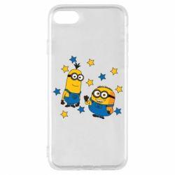 Чохол для iPhone 8 Minions and stars