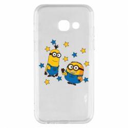 Чохол для Samsung A3 2017 Minions and stars