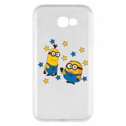Чохол для Samsung A7 2017 Minions and stars