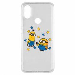 Чохол для Xiaomi Mi A2 Minions and stars