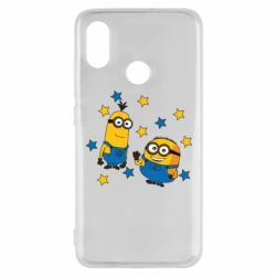 Чохол для Xiaomi Mi8 Minions and stars