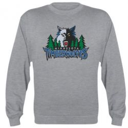 Реглан (свитшот) Minnesota Timberwolves - FatLine