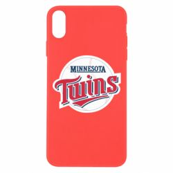 Чохол для iPhone Xs Max Minnesota Twins