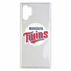 Чохол для Samsung Note 10 Plus Minnesota Twins