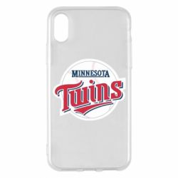 Чохол для iPhone X/Xs Minnesota Twins