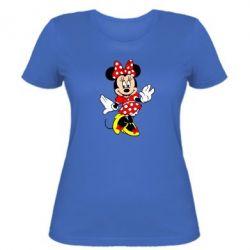 Женская футболка Минни Красавица