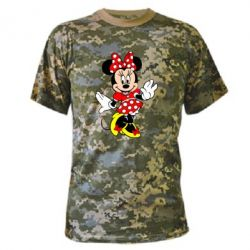 Камуфляжная футболка Минни Красавица
