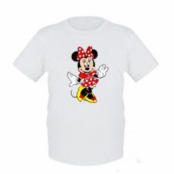 Детская футболка Минни Красавица