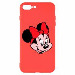 Чехол для iPhone 7 Plus Минни Маус