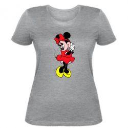 """Женская футболка Минни """"Мимими"""" - FatLine"""