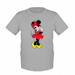 """Детская футболка Минни """"Мимими"""""""