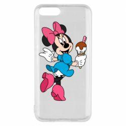 Чехол для Xiaomi Mi6 Minnie Mouse and Ice Cream