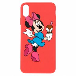 Чохол для iPhone Xs Max Minnie Mouse and Ice Cream