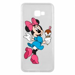 Чехол для Samsung J4 Plus 2018 Minnie Mouse and Ice Cream