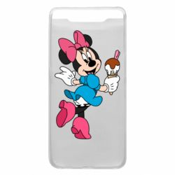 Чехол для Samsung A80 Minnie Mouse and Ice Cream