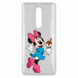 Чехол для Xiaomi Mi9T Minnie Mouse and Ice Cream