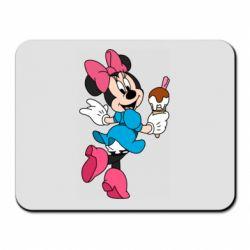Коврик для мыши Minnie Mouse and Ice Cream