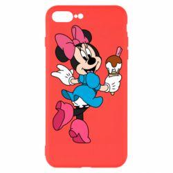 Чехол для iPhone 7 Plus Minnie Mouse and Ice Cream