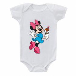 Детский бодик Minnie Mouse and Ice Cream