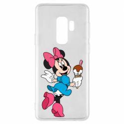 Чехол для Samsung S9+ Minnie Mouse and Ice Cream