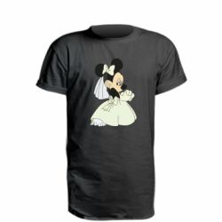 Удлиненная футболка Minnie Mouse Bride
