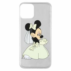 Чехол для iPhone 11 Minnie Mouse Bride