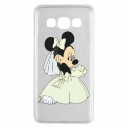 Чехол для Samsung A3 2015 Minnie Mouse Bride