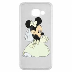 Чехол для Samsung A3 2016 Minnie Mouse Bride