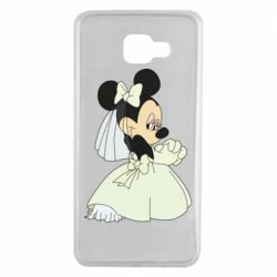 Чехол для Samsung A7 2016 Minnie Mouse Bride
