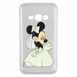 Чехол для Samsung J1 2016 Minnie Mouse Bride