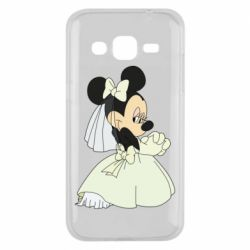Чехол для Samsung J2 2015 Minnie Mouse Bride