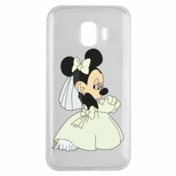 Чехол для Samsung J2 2018 Minnie Mouse Bride