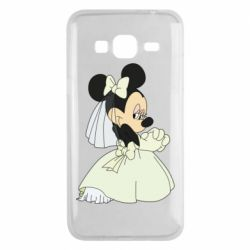 Чехол для Samsung J3 2016 Minnie Mouse Bride