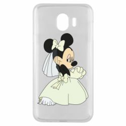 Чехол для Samsung J4 Minnie Mouse Bride