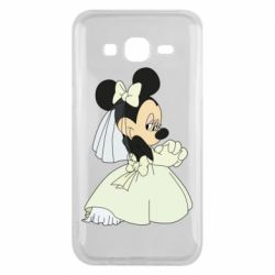 Чехол для Samsung J5 2015 Minnie Mouse Bride
