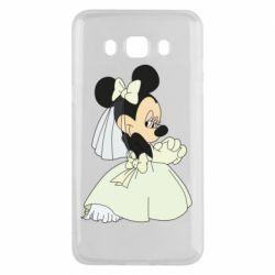 Чехол для Samsung J5 2016 Minnie Mouse Bride