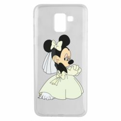 Чехол для Samsung J6 Minnie Mouse Bride
