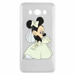 Чехол для Samsung J7 2016 Minnie Mouse Bride