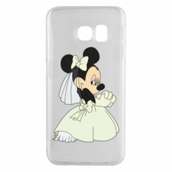 Чехол для Samsung S6 EDGE Minnie Mouse Bride